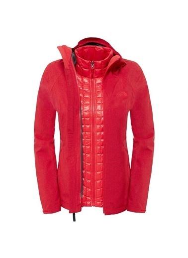 The North Face Thermoball Triclimate Kadın Ceket - T92Uakhsh Kırmızı